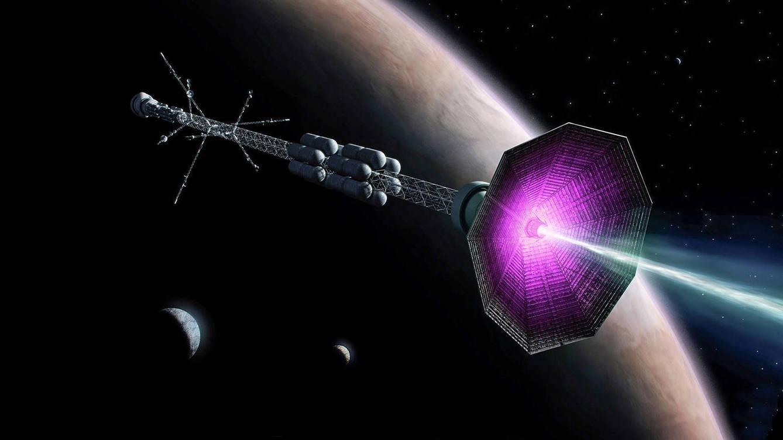 Foto: Concepto de la nave con motor de fusión nuclear. (ITER)