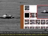 la nasa publico y luego elimino una foto de una misteriosa nave espacial en la superficie de marte