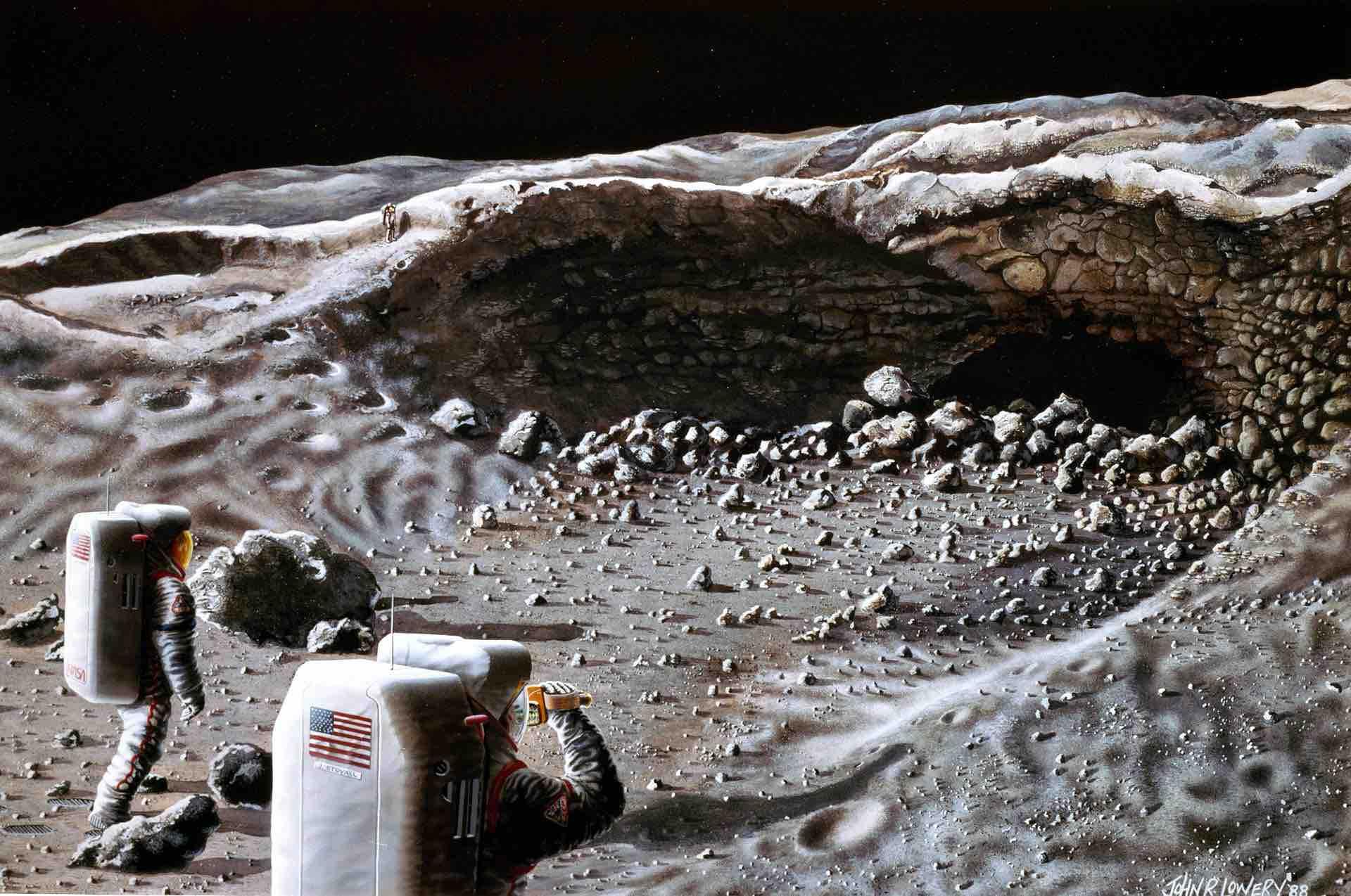 Exploración lunar
