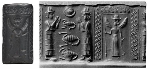 Los humanos deformes citados en las leyendas sumerios