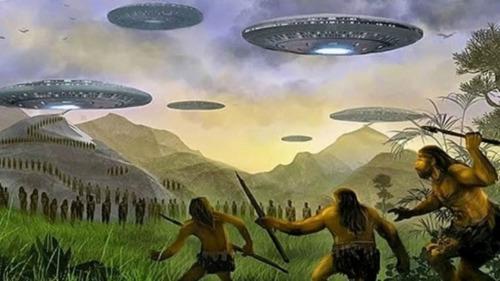 Quien voló a la Tierra hace 14 mil años