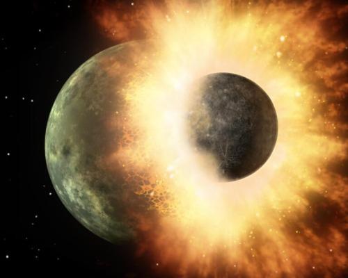 Remanentes de un planeta extraterrestre están enterrados en la Tierra