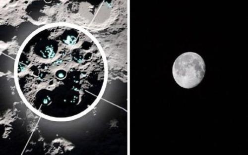 Satélite de la NASA observa «agua en movimiento» en la superficie de la Luna