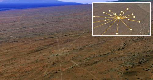 un extrano mapa estelar antiguo de 150 000 anos descubierto en hawai 3 millas de ancho
