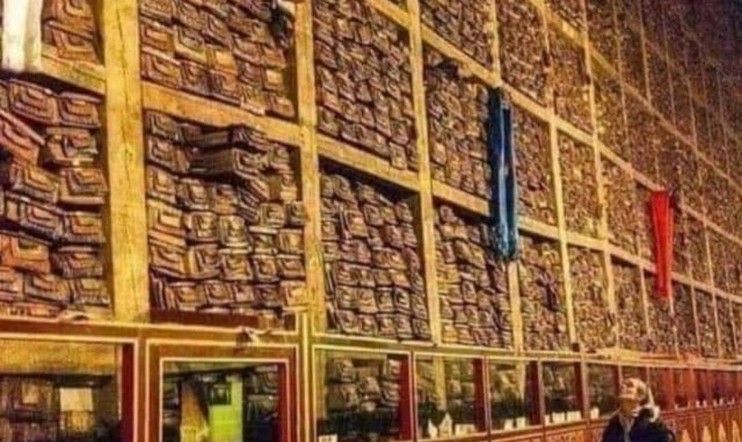 Localizada en el tibet una biblioteca secreta con 84000 manuscritos misterios