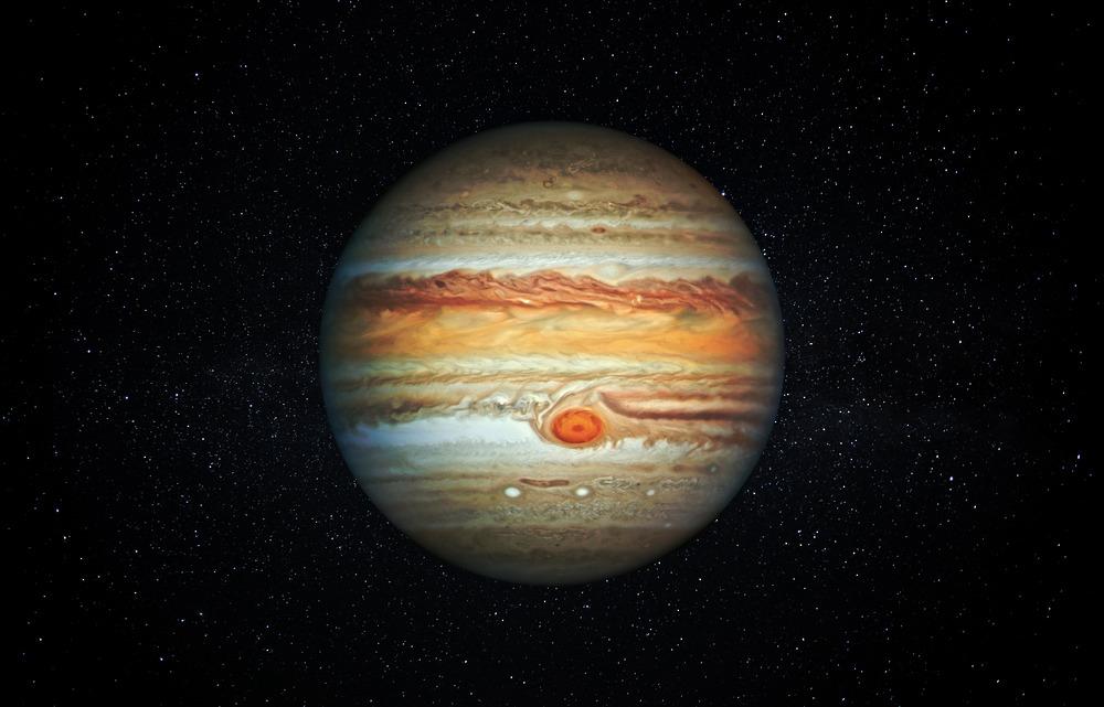 ¿Es la Gran Mancha Roja de Júpiter una estación intermedia de por vida?
