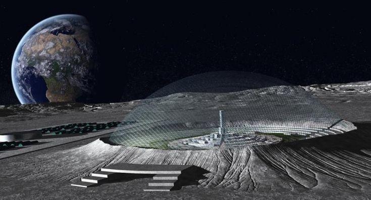 ¿Hay bases en la Luna? La «filtración» que realizó explotar las redes (VÍDEOS)