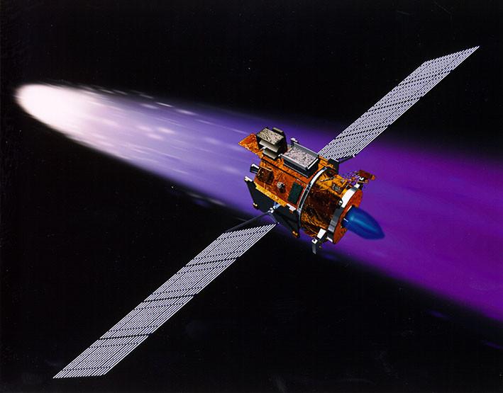motor ionico deep space 1 nasa