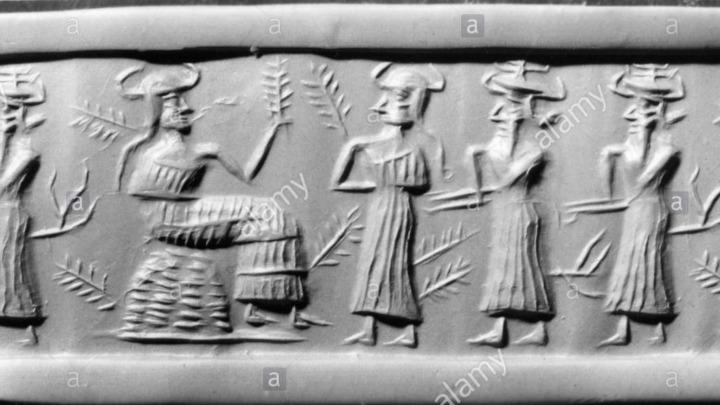 Dioses Anunnaki y la competencia por la creación de la sociedad