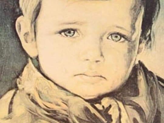 El cuadro del niño que llora