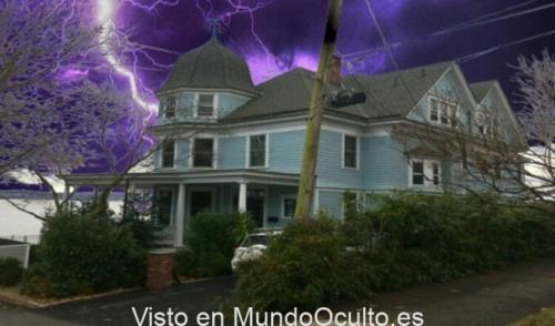 La mansión embrujada de Nyack.
