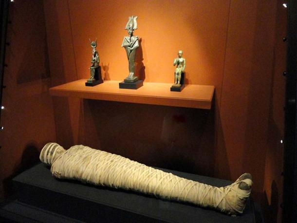 Momia Kai-i-nefer, Egipto, Período Tardío, 525-332 AEC.