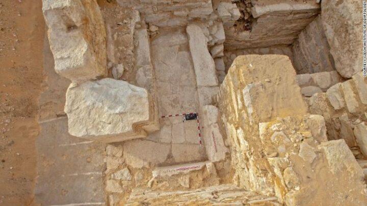 La sepulcro de una reina egipcia de hace 4.500 años contiene un aviso encima del cambio climático