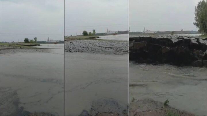 Pedazo de tierra se levantó por sí sola en la India, y los internautas buscan una aclaración (VIDEO)