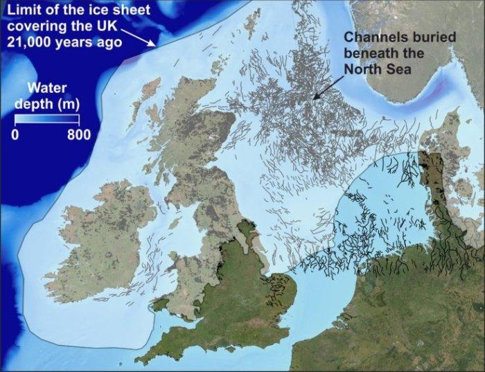 Investigación revela pasajes ocultos de la Edad del Hielo ocultos en profundidades del Mar del Norte