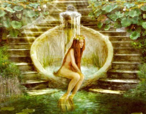 El mito del hada Pressina y el soberano Elinas