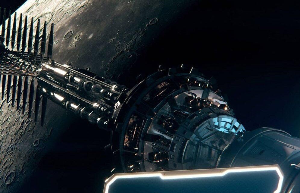 La vehículo espacial nuclear que minará los recursos de la Luna y Marte