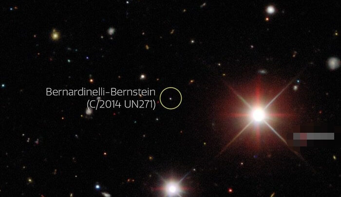 Megacometa que se dirige hacia el Sol es siete veces más grande que Fobos, luna de Marte