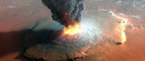 La NASA confirma miles de erupciones volcánicas masivas y antiguas en Marte