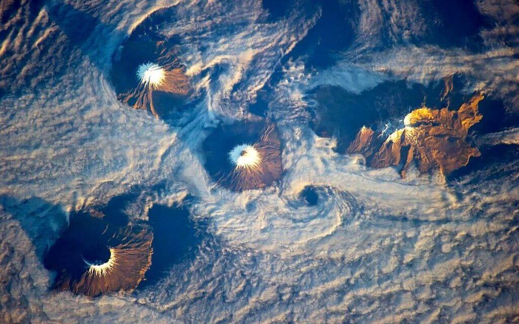 Un inmenso volcán podría esconderse debajo de Alaska